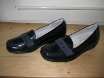Navy Patent Leather Moccasin (NEW) in Ramstein, Germany