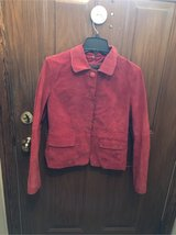 soft red leather jacket in Naperville, Illinois