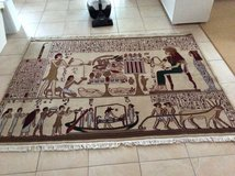 Carpet out of Kairo Egypt handcrafted in Ramstein, Germany