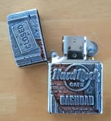 BRAND NEW - Very Rare ZIPPO Hard Rock Cafe BAGHDAD CLOSED Lighter D-04 (2004) in Okinawa, Japan
