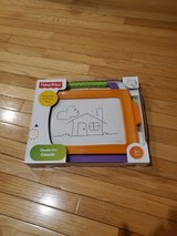 magnetic drawing fun in Naperville, Illinois