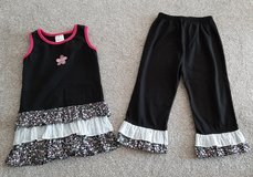 Girls size 6/6X Boutique outfit pants never worn new cond in Morris, Illinois