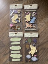 New! Winnie the Pooh Dimensional Stickers 4-pack in Naperville, Illinois