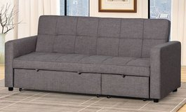 New! Grey 2 ASULT sofa bed sleeper in Camp Pendleton, California