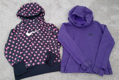 Girls size M 7/8 NIKE hoodies both for $10 in Morris, Illinois