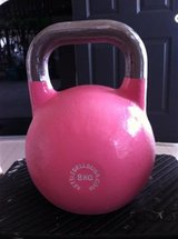 8kg competition style kettlebell (pink) in 29 Palms, California