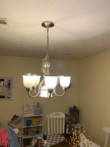brushed nickel light fixture in Fort Campbell, Kentucky