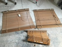 3 Levolor Wood Blinds in Alamogordo, New Mexico