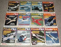 Vintage 1994 Private Pilot Magazine ALL 12 Issues Jan - Dec Aviation Aircraft in Joliet, Illinois