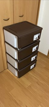 Stackable Drawers used for 6 months in Okinawa, Japan