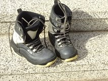 snowboard-boots- good condition, male, size 9 (9  1/2) in Ramstein, Germany
