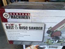 Belt and Disc Sander in 29 Palms, California