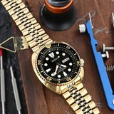 Seiko Golden Turtle SRPC44 with Strapcode Jubilee bracelet super excellent in Okinawa, Japan