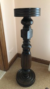 Victorian Carved Pedestal Plant Stand in Bolingbrook, Illinois