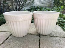 Pair of Roseville Pottery Planters in Naperville, Illinois