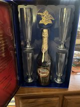 Budweiser Limited Edition Bottle and Glass Set in Fort Leonard Wood, Missouri