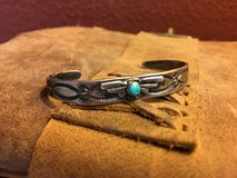 Child's Sterling Turquoise Bracelet in Alamogordo, New Mexico