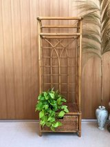 Rattan Clothing Rack / Plant Rack in Okinawa, Japan