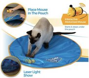 Catch Me Kitty interactive cat toy in Naperville, Illinois