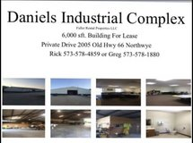 6000 sq ft building with office space in Fort Leonard Wood, Missouri