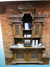 German 1800's Henry 11 QTR Oak Sideboard in Cherry Point, North Carolina