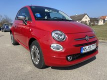 Rental car Fiat 500 5 stick manual per day 79 euro included insurance in Hohenfels, Germany