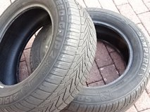 2x tires 215/60R16  tread left on in Ramstein, Germany