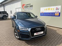 2017 Audi Q3 Premium Plus with warranty in Hohenfels, Germany