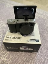 Samsung EV-NX3000BEIUS Wireless Smart 20.3MP Compact System Camera with 3-Inch LCD (Black) in Okinawa, Japan
