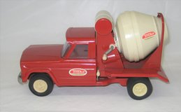 Vintage 1960's - Tonka Jeep Cement Mixer Truck - Pressed Steel Toy - EX CONDITION in Naperville, Illinois