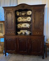 beautiful spacious Louis XV style dining room hutch in Stuttgart, GE