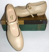 New! Sz 10M Leather Tap Shoes - Mary Jane style Giordano Leo's Dance in Naperville, Illinois