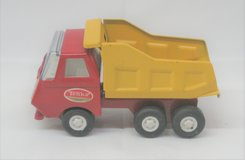 Vintage 1960's Tonka - Red & Yellow Dump Truck - Pressed Steel - 5 Inches in Naperville, Illinois