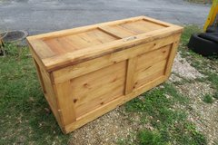 large strong foot looker ext solid wood & pine / box 4' W  X 2' T  X 21'' D in Okinawa, Japan