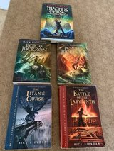 Olympians Books 1 - 4 And Magnus Chase Book II: 5 Riordan Middle Sch Books in Cherry Point, North Carolina