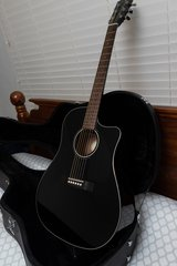 Fender Acoustic/Electric Guitar CD60CE BLK-DS in Camp Lejeune, North Carolina