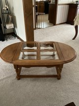 Solid wood coffee table in Naperville, Illinois