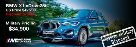 2021 BMW X1 xDrive28i - LIMITED TIME SPECIAL PROMO OFFER in Lakenheath, UK