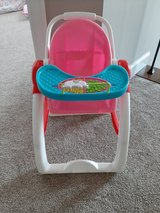 Baby doll highchair toy in Morris, Illinois
