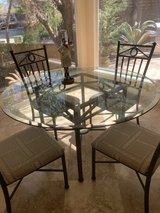 Glass table with 6 chairs in Bellaire, Texas
