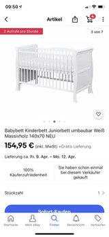 baby bed in Ramstein, Germany