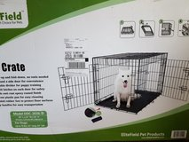 EliteField dog crate - Brand new in Naperville, Illinois