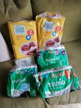 bits and bobs of nappies in Lakenheath, UK