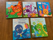 Baby Einstein My First Smart Pad Books: Set of 5 Picture/Word Books; 2 - 5 years in Cherry Point, North Carolina
