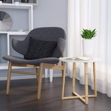 BAMEOS Modern Bamboo Side End Table - New! in Naperville, Illinois