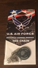 Air Force Tag Chain in Naperville, Illinois