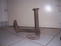 Vintage Antique Cast Iron Cobblers Double Shoe Stand in Wiesbaden, GE