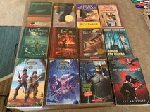 Boys Chapter Books Upper Elem/Middle Sch: Lot of 12 Riordan, Sachar, Spinelli in Cherry Point, North Carolina