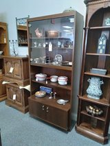 Cabinet w/ Shelves, Doors,  Glass in Naperville, Illinois