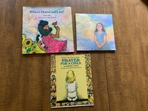 3 Christian Picture Books: Prayer for a Child, What's Heaven, Where Does God Live? in Cherry Point, North Carolina